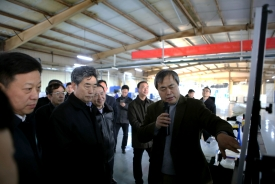 2018年2月3日 安徽省省委常委、常务副省长邓向阳来访